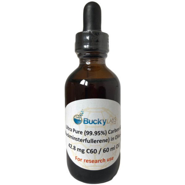 Buck Labs Carbon 60 olive oil 60 ml