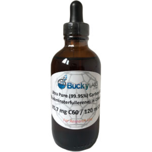 Bucky Labs Carbon 60 olive oil c60 120ml